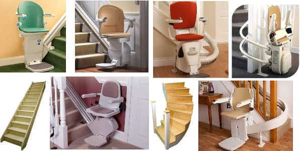 Many types of stairlifts available at stairliftprices